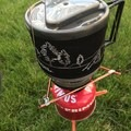 The Hanging Kit is a great upgrade for winter campers or those who like being sheltered while cooking. - Gear Review: Jetboil MiniMo