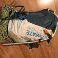 The pack fully loaded.- Gear Review: Ultimate Direction Skimo Adventure Vest