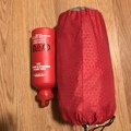 The relative size of the Exped Synmat Winter: like a Nalgene.- Gear Review: Exped Synmat HL Winter