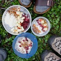 Backcountry chia pudding.- How to Pack In Calories Without Sacrificing Nutrition