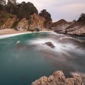 Another view of McWay Falls.- The Best of Big Sur: Hiking, Camping, Beaches, and Waterfalls