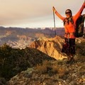 Finishing a week long off-trail solo section of the Grand Canyon Traverse.- Woman In The Wild: Sirena Rana Dufault