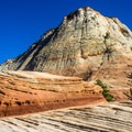 Checkerboard Mesa on the east side of Zion.- A Perfect 7-Day Itinerary for Zion and Bryce Canyon National Parks
