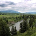 Oldman River wanders the south side of the Bob Creek Wildland.- The Essential Alberta Road Trip