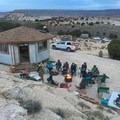 Indian Creek yurt life.- Moab: Women's Climbing Clinics
