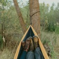 The Double Hammock is the perfect fit for two!- 7 Awesome + Easy Outdoorsy Date Ideas That Don't Suck