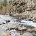 The Smith River flows by Panther Flat Campground.- No Memorial Day Plans? Let's Camp in the Redwoods!