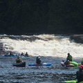 Kayakers flock to the Beaver River during release weekends.- Relicensing the Black River Basin