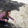 Sea foam at Thor's Well + Cook's Chasm, Oregon.- 10 Locations Perfect for Storm Watching