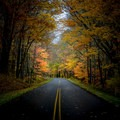 Blue Ridge Parkway in autumn.- Stunning Fall Adventures in the Central Appalachians