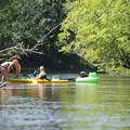 Floating is popular along the Pere Marquette River.- Paddler's Guide to Ludington, Michigan