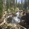 Waterfall on the Lostine River.- Wallowa Logging Threatens the Lostine Corridor