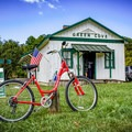 As you cruise the Virginia Creeper Trail, take time to stop off along the way and explore. Don't forget cash to grab snacks, drinks or even lunch along the way.  - A Guide to Leaf-peeping Weekends in the Blue Ridge Mountains