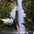 Dry Creek Falls.- Hiking Through the Years: 30+ Years in the Columbia River Gorge