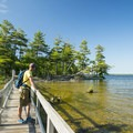 The boardwalks along the Island Trail are amazing.- 5 Incredible Adventures in Ludington, Michigan