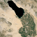 Imperial Valley and Salton Sea in Southern California. Image from Google Earth.- Bureau of Reclamation