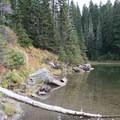 Cultus Lake.- Fall Color in Indian Heaven Wilderness, WA