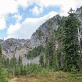 Lemei Rock.- Fall Color in Indian Heaven Wilderness, WA