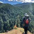 First ever backpacking trip on Oregon's Salmon River Trail near Mount Hood, June 2018. Photo by Brie Jones.- Woman In The Wild: Jenny Bruso