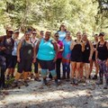 First ever national Unlikely Hikers group hike and meet-up in Washington, D.C., October 2017.- Woman In The Wild: Jenny Bruso