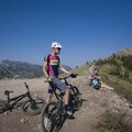 The views are amazing in Park City. - Mountain Biking in Park City