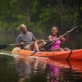 Tallahassee's waterways are great for advanced paddlers and beginners alike. Photo courtesy of Visit Tallahassee.- Destination Spotlight: Trails of Tallahassee