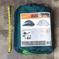 When packed in its case, the tent measures about 15 x 12 inches.- Gear Review: Kelty Trail Ridge 2 Tent