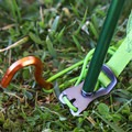 Tent poles easily snap into color coordinated corners, eliminating some of the confusion of setting up.- Gear Review: Kelty Trail Ridge 2 Tent