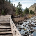 Hike along the old rail line on the Klickitat Trail.- Wednesday's Word - Klickitat