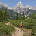 On our way to Bradley Lake in my favorite place in the US, Grand Teton National Park.- #WhyIHike: Kyle Jenkins
