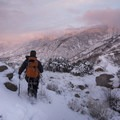 Enjoying another beautiful Wasatch Mountain sunset near Bells Canyon.- #WhyIHike: Kyle Jenkins