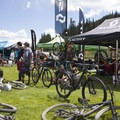 Deer Valley on race day.- Mountain Biking in Park City