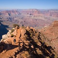 South Kaibab Trail to Phantom Ranch.- Hiking to Phantom Ranch, the Jewel in the Grand Canyon