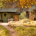 The cabins at Phantom Ranch.- Hiking to Phantom Ranch, the Jewel in the Grand Canyon