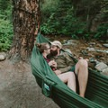Find a river and set up shop.- 7 Awesome + Easy Outdoorsy Date Ideas That Don't Suck