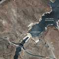 Hoover Dam and Lake Mead. Image from Google Earth.- Bureau of Reclamation