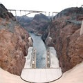 Looking down the Hoover Dam.- Bureau of Reclamation