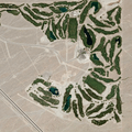 Las Vegas Paiute Golf Resort northwest of Las Vegas. Image from Google Earth.- Bureau of Reclamation