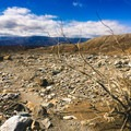 Endless desert washes on the way to Indian Canyon.- A Mountain Brat in Death Valley