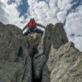 Men's Nepal Cube GTX at the east ridge of Grand Montets.- Gear review: La Sportiva Women's Nepal Cube GTX