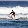 Learning to surf.- Woman In The Wild: Sarah Connette
