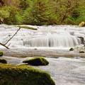 Ledge Falls along Sweet Creek.- Wednesday's Word - Siuslaw