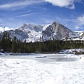 Lion Lakes.- Late Season Hiking in Rocky Mountain National Park