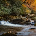 Little River in Great Smokey Mountains National Park.- 10 Breathtaking Photos of Autumn in the American Southeast
