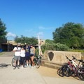 Latino Outdoors ambassador and volunteers hosted a bike ride throughout the San Antonio Missions National Park.- Woman In The Wild: Rosa Bianca Velasquez-Perez