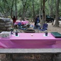 Our glamping site in Big Sur.- Girls Who Glamp: Big Sur Style