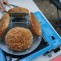 Fancy camp toaster for your buns.- Girls Who Glamp: Big Sur Style