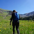 While attending Project 16x, we did a hike that was super strenuous for me because of the high elevation in Telluride, Colorado.- Woman In The Wild: Luz Lituma