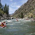 Day six on the Middle Fork of the Salmon River.- 2017 River Lottery Deadlines and Cancellation Announcements