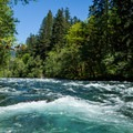 Whitewater on the McKenzie River.- Rivers of Oregon